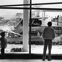15 Vintage Memories from the Soon-to-be-Demolished Parmatown Mall Patrons watch construction outside of Parmatown mall.