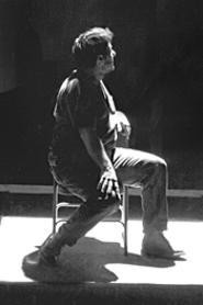Paul Floriano plays the haunted war vet, - Ulysses.