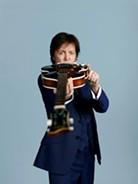 Paul McCartney will be in town for the Rock Hall Inductions. - MARY MCCARTNEY