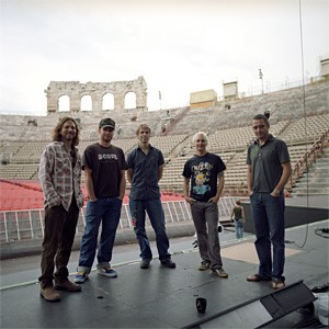 Pearl Jam just can't pack 'em in the way they do in the States.
