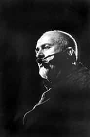 Peter Gabriel at his Gund Arena show on November - 19. - WALTER  NOVAK
