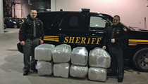 [PHOTO] 425 Pounds of Marijuana Seized During Routine Ohio Traffic Stop