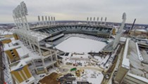 PHOTO: A Frozen Progressive Field
