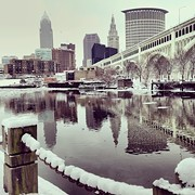 Photo of the Day: A Snow Capped Cleveland