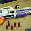 PHOTO: Ohio Police Post Picture of a Shotgun Designed to Look Like a Toy Squirt Gun