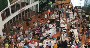 Photos from Cleveland Veg Fest 2014 at CSU