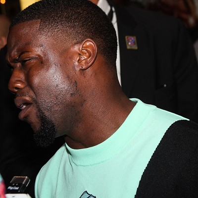 Photos from Kevin Hart's Appearance at Tower City Cinemas
