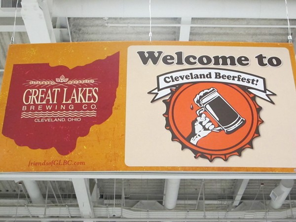 Photos from last night's Cleveland Beerfest at the Convention Center