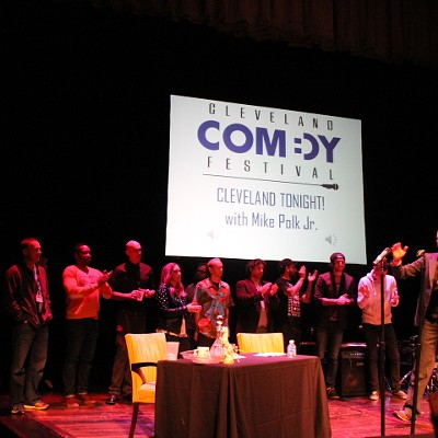 Photos from Mike Polk Jr. Performing at the Cleveland Comedy Festival