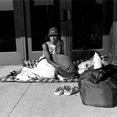 Photos: Homeless People in Cleveland Find Shelter in Different Ways
