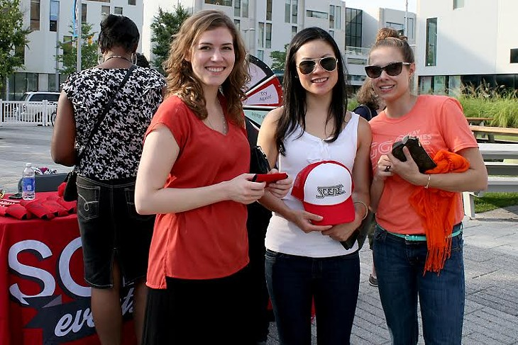 Photos of the Scene Events Team Driven by Fiat of Strongsville at The Beat UPTOWN