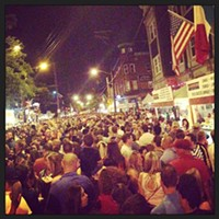Photos: Your Best Pics from Little Italy's Feast of Assumption  Photo Courtesy of Instagram User k_manthey