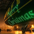 Pic of the Day: Merry Christmas From the Goodyear Blimp