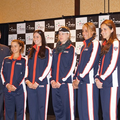 Pics from the FedCup Draw Ceremony