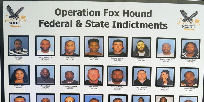 """Pictures From The """"Operation Fox Hound"""" Press Conference  Doug Brown/Cleveland Scene"""
