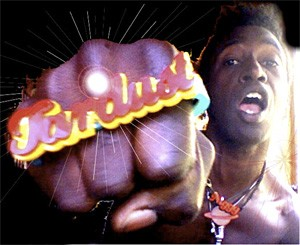 Pow! Saul Williams gives you a taste of his fist, sprinkled with a bit of Tardust.