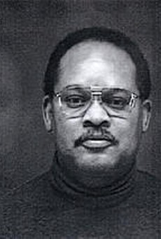 Prosecutors allege that Larry Jones (pictured) and Michael  Ross took $600,000 in bribes.