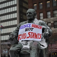 Protesting Against Food Stamp Cuts  Doug Brown/Cleveland Scene