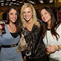 10 Things Going on in Cleveland this Weekend (January 31 - February 2) Put on by a guy from Kentucky, Cleveland Winter Beerfest is the latest addition to the ever-growing assortment of local beer festivals. You can never have too much of a good thing, can you? The festival, which takes place today and tomorrow night at 7:30 at the Cleveland Convention Center, will feature the usual assortment of exotic craft beers. Doors open at 6:30 each night for VIPs. Your regular admission ticket includes 25 samples in a 5-ounce cup. Those tickets cost $35 in advance and $45 on the day of the event. The VIP tickets run $45 in advance and $55 on the day of the event. (Niesel) Photo via Facebook