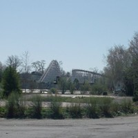 15 Photos of Abandoned Geauga Lake Amusement Park Raging Wolf Bobs roller coaster Photo via Jeremy Thompson, Flickr Creative Commons