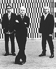 R.E.M.: Still acclimating to life as a trio.
