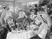 Renoirs master work, Luncheon of the Boating - Party, is part of the art museums new exhibition.