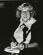 Rock reporter Jane Scott. - JANET MACOSKA