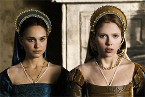 Royal twofer: Natalie Portman (left) and Scarlett Johansson in The Other Boleyn Girl.