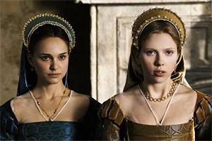Royal twofer: Natalie Portman (left) and Scarlett Johansson in The Other Boleyn Girl.