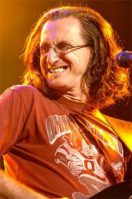 Rush frontman Geddy Lee, from a 3-hour set at Blossom. - WALTER NOVAK