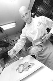 Sans Souci's Ben Fambrough: He's dangerous with - tuna. - WALTER  NOVAK