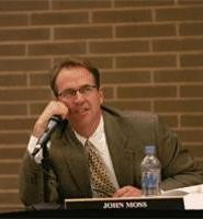 School board member John Moss has pushed for better oversight. His colleagues are less enthusiastic. - WALTER  NOVAK