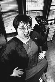 Scissors beat paper: Felicia DeLappi, liberated hairdresser. - WALTER  NOVAK
