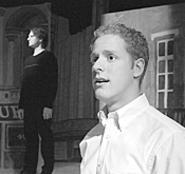 Scott Esposito shines as the sexless New - York gay boy, Jeffrey.