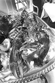 Seafood claws to the top of Picasso's menu. - WALTER  NOVAK