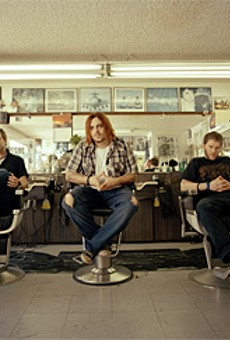 Seether gets a little off the top before its Time Warner Cable Amphitheater show this week.