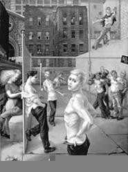 """Sex and the city: Paul Cadmus's """"Playground."""""""
