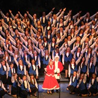 "Sunday, November 24: Go Hear Angels Sing Since 1964, the Singing Angels has been one of the premiere youth choruses in the United States. The group features more than 250 children from all over northeast Ohio. In its lifetime, it's performed for presidents and popes; it's also performed in more than 35 foreign countries. The Singing Angels take the State Theatre stage today at 2 p.m. where they'll present a ""greatest hits"" of the past 50 holiday seasons. Tickets are $15 to $40. (Rus) Photo Courtesy of I-X Christmas Connection, Facebook"