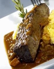 Sinergy's caramelized beef short ribs just may be the best in town. - WALTER  NOVAK