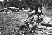 """Sisters  Refugee Settlement,"" by Piet Van Lier, photograph."