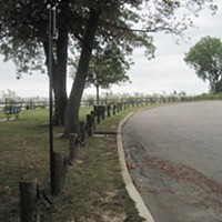 Kensington Oval ...Sounds pretty regal. This street affords some of the nicest lake views in Rocky River. It's a short little thing, though, so keep your eyes peeled and snag a streetside spot before posting up at one of the nearby park benches. ERIC SANDY/SCENE