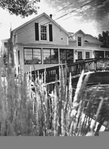 WALTER  NOVAK - Splendor in the grass: Bucolic Fisher's Tavern.