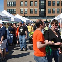 15 Things Going on in Cleveland Memorial Day Weekend Spring is finally here and the North Union Farmer's Market is back for its 10th season at Crocker Park. A wide array of vendors will be on hand selling everything from local, organic produce and meats to honey, preserves and baked goods. You can also purchase plants you can take home to start your own organic garden. This year's new location is across from Dick's Sporting Goods. Hours are 9 a.m. to 1 p.m. and the market takes place every Saturday through December. (Trenholme) Photo via Cleveland Scene Archives