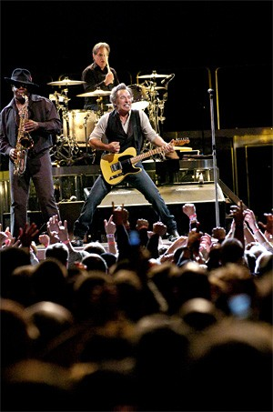 Springsteen: Born in the U.S.A., rocked the Q. - WALTER NOVAK