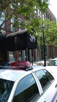 Spy Bar seems to be the leading promoter of fight nights on West Sixth. - WALTER NOVAK