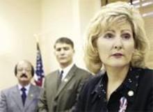 State Senator Teresa Fedor thinks Taft should appoint more skirts.