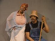 "Stephanie Stovall and Jimmie Woody are featured in the vignette ""Cookin' With Aunt Ethel."""