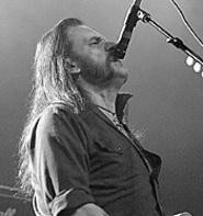 Still packin' 'em in: Motrhead's Lemmy Kilmister, at - the Agora Theatre, March 18. - WALTER  NOVAK