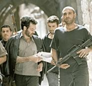 Straight outta Palestine: The angry young men of - Paradise Now prepare for battle.
