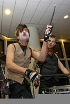 Street Drum Corps, rocking the Rock Hall on January 26.